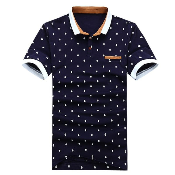 West Louis™ Summer Cotton Polo Shirt
