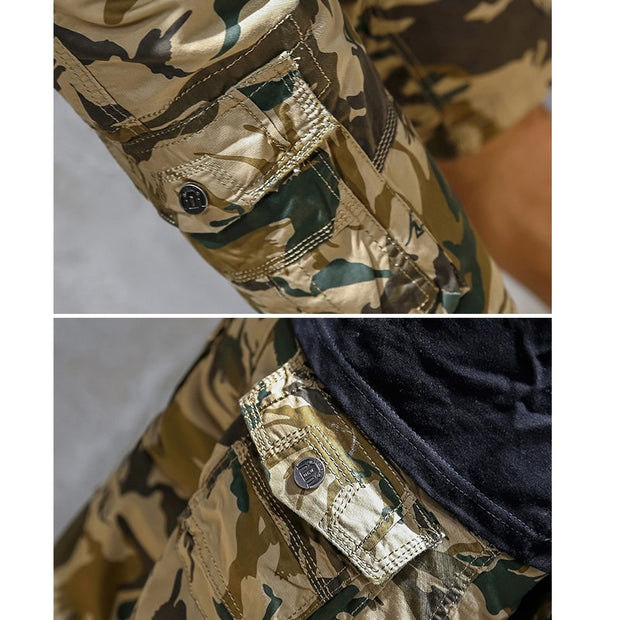 West Louis™ Camouflage Loose Cargo Shorts