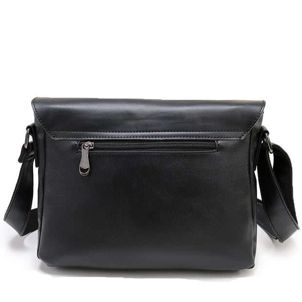 West Louis™ Shoulder Satchel PU Leather Briefcase