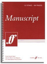 Manuscript book (12 stave, 64 pages)