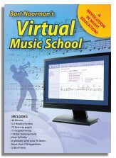 Bart Noorman: Virtual Music School (VMS) (DVD-ROM)