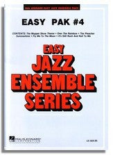 Hal Leonard: Easy Jazz Ensemble Pak 4