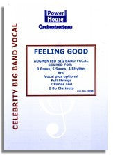 Michael Buble: Feeling Good (Sheet Music for Big Band plus Strings)