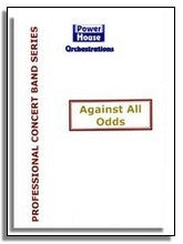 Phil Collins Big Band: Against All Odds (Professional Concert Band Version) (Sheet Music for Big Band)