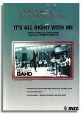 Gordon Goodwin: It's All Right With Me (Sheet Music for Big Band)