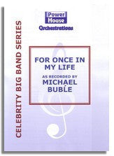 Michael Buble: For Once In My Life (Sheet Music for Big Band)