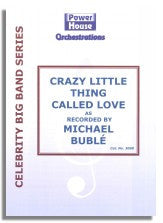 Michael Buble: Crazy Little Thing Called Love (Sheet Music for Big Band)