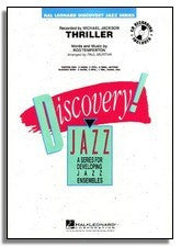 Hal Leonard: Thriller (Sheet Music for Jazz Ensemble) (DJ)