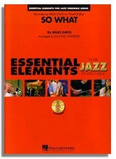 Hal Leonard: So What (Sheet Music for Jazz Ensemble) (EE)