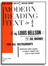 Louie Bellson & Gil Breines: Modern Reading Text In 4,4