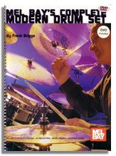Mel Bay's Complete Modern Drumset (Book and DVD)