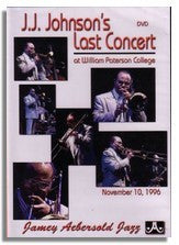 J.J. Johnson's Last Concert  DVD (1996)
