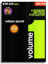 William Leavitt: Modern Method for Guitar, Volume 1 (BK/CD)