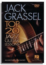 Jack Grassel: Top 20 Jazz Guitar Lessons (DVD)