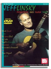Jeff Linsky: Fingerstyle Jazz Guitar Solos (Bk/DVD)