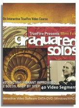 Mimi Fox: Graduated Solos (Truefire) - DVD-ROM version