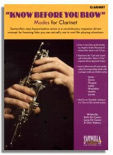 Santorella: Know Before You Blow - Modes for Clarinet