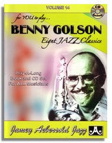 Jamey Aebersold volume 14: Benny Golson (2CD's)