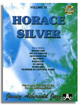 Jamey Aebersold volume 18: Horace Silver II (2CD's) Now with a 2nd CD with slower practice tempos!
