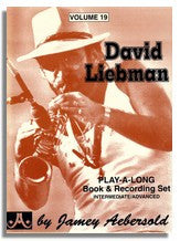 Jamey Aebersold volume 19: David Liebman