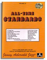 Jamey Aebersold volume 25: All-Time Standards