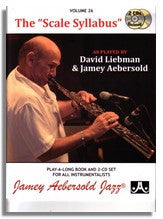 Jamey Aebersold volume 26: The Scale Syllabus