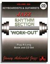 Jamey Aebersold volume 30A: Rhythm Section Work-Out - Keyboards & Guitar