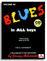 Jamey Aebersold volume 42: Blues in All Keys