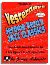 Jamey Aebersold volume 55: Jerome Kern