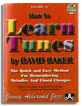 Jamey Aebersold volume 76: How To Learn Tunes