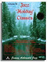 Jamey Aebersold volume 78: Jazz Holiday Classics (Christmas songs)
