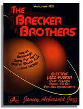 Jamey Aebersold volume 83: Brecker Brothers