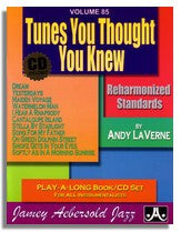 Jamey Aebersold volume 85: Tunes You Thought You Knew - Reharmonized Standards