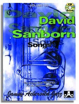 Jamey Aebersold volume 103: David Sanborn