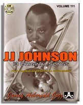 Jamey Aebersold volume 111: J.J. Johnson