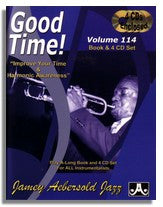Jamey Aebersold volume 114: Good time! Improve your time.