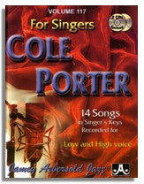 Jamey Aebersold volume 117: Cole Porter for Singers