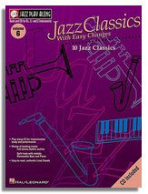 Hal Leonard: Volume 6 - Jazz Classics with Easy Changes