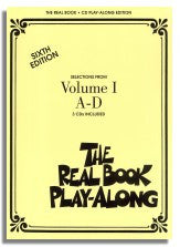 The Real Book (6th Edition, Hal Leonard) - Volume 1 - Set of 12 Playalong CDs