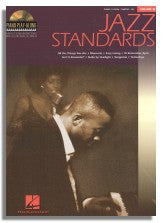 Hal Leonard Piano Play-Along Volume 18: Jazz Standards