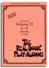 The Real Book (6th Edition, Hal Leonard) - Volume 2 - Set of 12 Playalong CDs