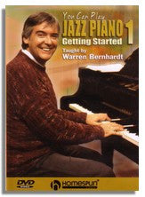 Warren Bernhardt: You can play Jazz Piano Vol. 1 Getting Started (DVD)