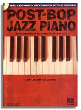 John Valerio: Post-Bop Jazz Piano (HL Keyboard Style Series)