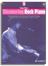 Jürgen Moser: Discovering Rock Piano Vol. 2