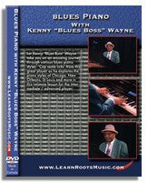 Blues Piano With Kenny 'Blues Boss' Wayne (DVD)