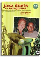 Ernie Watts & Bruce Eskovitz: Jazz Duets for Saxophones