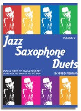 Greg Fishman: Jazz Saxophone Duets Volume 2