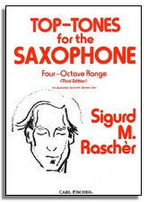 Sigurd Rascher: Top Tones for Saxophone
