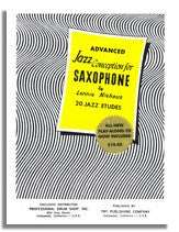 Lennie Niehaus: Advanced Jazz Conception For Saxophone