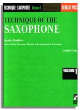 Joe Viola: Technique of the Saxophone Vol. 1 - Scale Studies